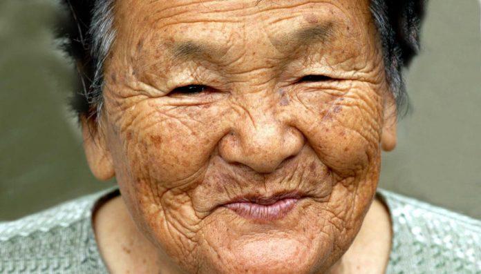 Ηλικιωμένη Ιαπωνία