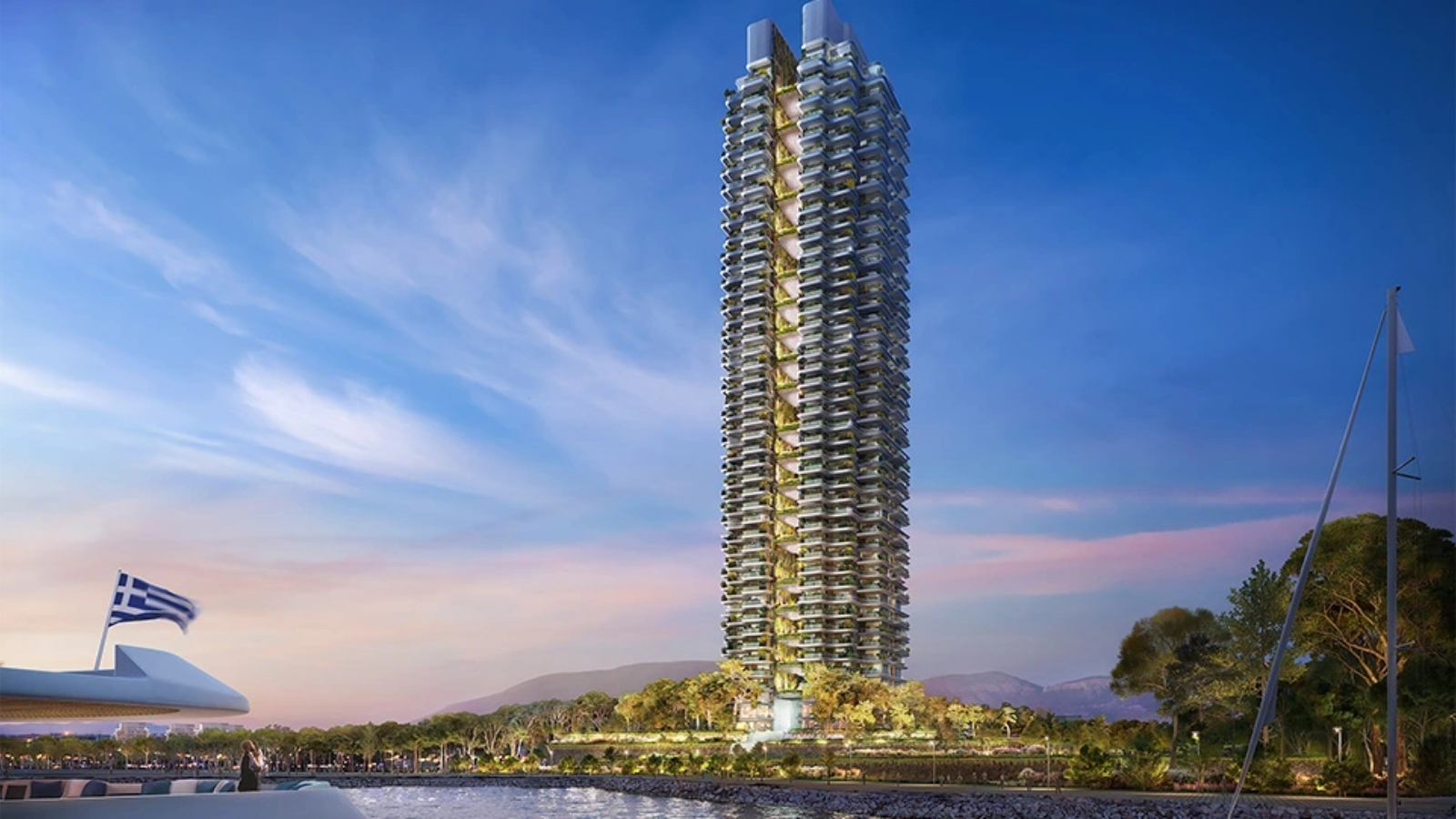 Έτσι θα είναι ο Marina Tower στο Ελληνικό: Ο πρώτος «πράσινος» ουρανοξύστης στην Ελλάδα