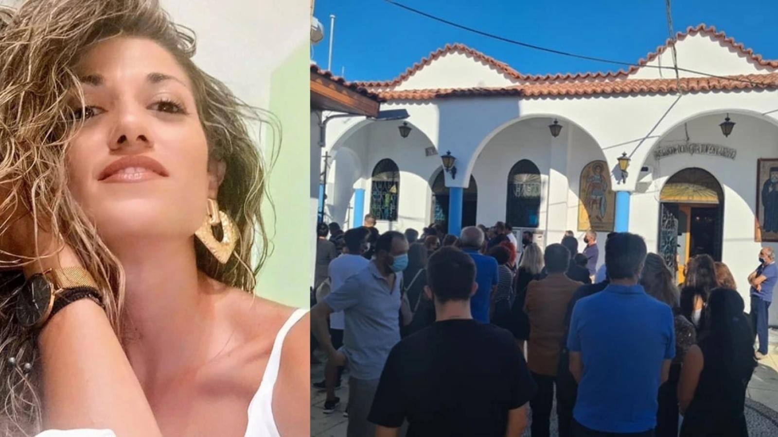 Ρόδος: Ραγίζουν καρδιές στην κηδεία της Ντόρας - Οργή για τον δράστη