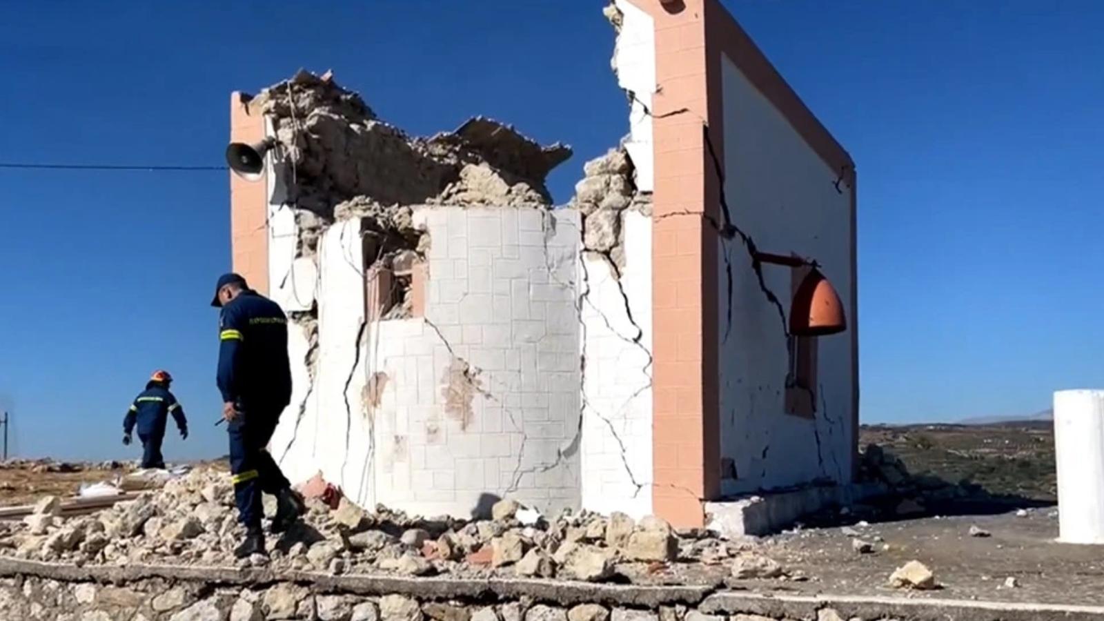 Σεισμός στην Κρήτη: Ένας νεκρός από τη δόνηση των 5,8 Ρίχτερ